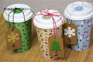 Adventskalender Basteln Aus Coffee To Go Bechern