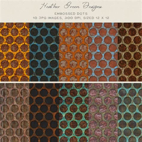 embossed dots background pack graphics clip art luvly