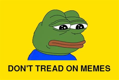 Don T Tread On Me Memes - pepe the frog gadsden flag don t tread on me know your meme