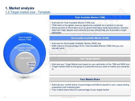 market competitor analysis template   marketing