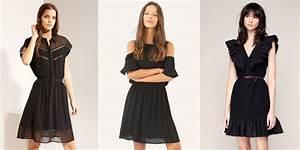 Robe Tendance Ete 2017 : robes noires printemps t 2017 30 looks qu 39 on adore ~ Melissatoandfro.com Idées de Décoration