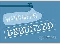 Mythbusters Will Drinking Water Help With…? The Whole U