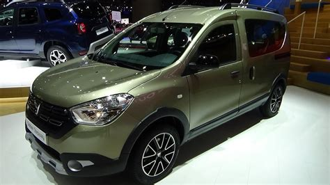 dacia dokker stepway celebration 2018 2018 dacia dokker stepway unlimited 2 tce exterior and interior geneva motor show 2018