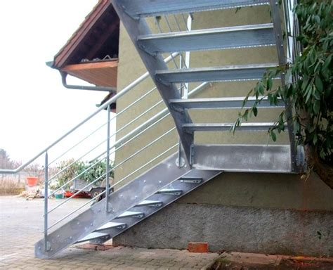 escalier en caillebotis metallique escalier ext 233 rieur m 233 tallique metal concept escalier ferronnerie d alsace ferronnier