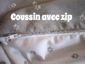 Coudre Une Housse De Coussin : coudre un coussin avec une fermeture clair youtube ~ Melissatoandfro.com Idées de Décoration