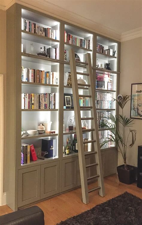 bookcase lighting ideas living room traditional with glass