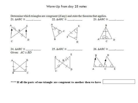 Triangle Congruence Proofs Worksheet Homeschooldressagecom