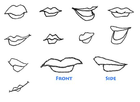 lip cartoon clipartsco