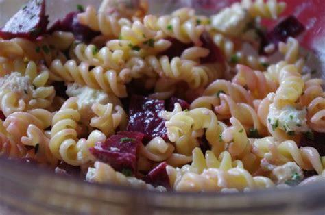 salade de pates au boursin