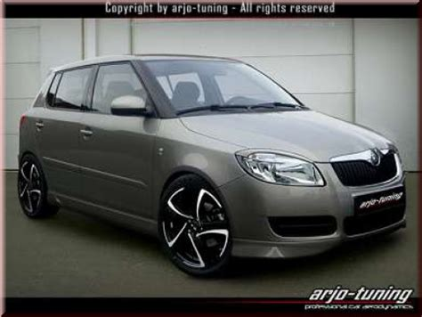 skoda fabia    eyebrows sw tdm tuning  kaufen