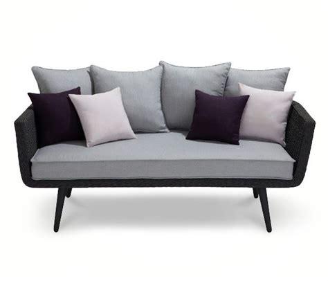 canapé castorama canape acadia cordes grises avec coussins castorama