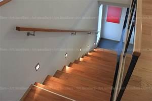 Main Courante Escalier Intérieur : main courante art escaliers ~ Edinachiropracticcenter.com Idées de Décoration
