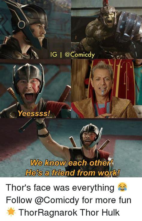 thor memes funny thor loki  hulk pictures