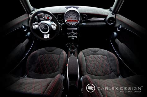 carlex designs mini cooper  custom interior autoevolution