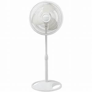 Lasko 2520 16 In  Oscillating Stand Fan