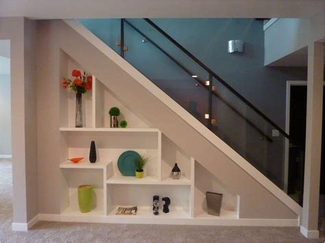 Kitchen Shelves Decorating Ideas - under stair shelf 10 cube stair shelf unit sonoma under stairs shelves plans under stair shelf
