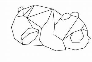 Origami Animaux Facile Gratuit : dessin du panda en origami ~ Dode.kayakingforconservation.com Idées de Décoration