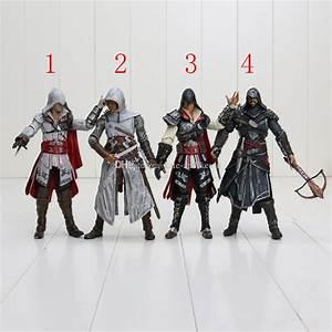 2018 Neca Assassin'S Creed Ii 2 Ezio Action Figure White ...