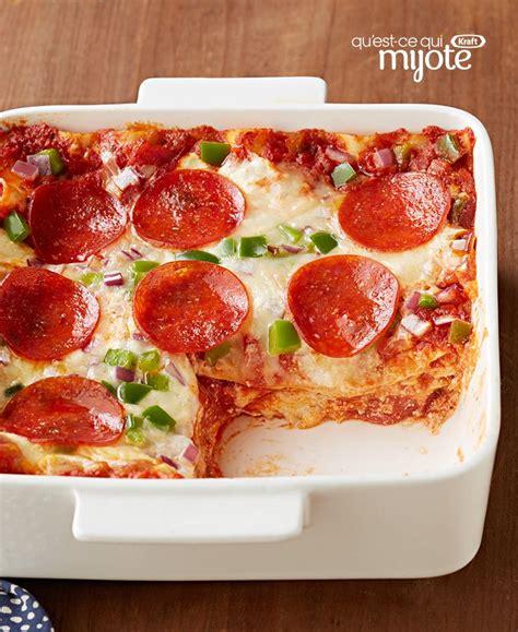 lasagne au pepperoni fa 231 on pizza recette des p 226 tes pizza pepperoni et lasagne
