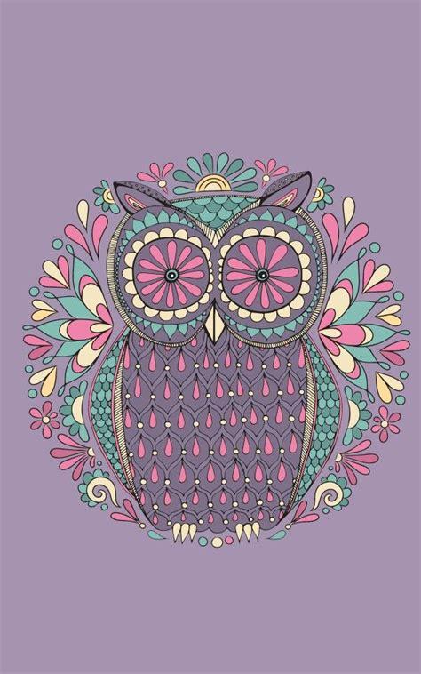 Pretty Iphone 6 Wallpaper Retro Owl Background Pinteres