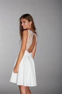 Robe Courte Mariée : robe mariage civil courte ~ Melissatoandfro.com Idées de Décoration