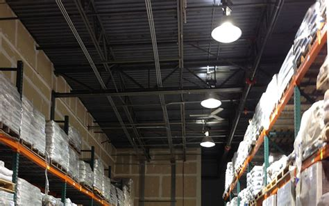 warehouse lms lighting