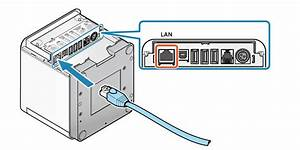 Printer With Wired Network Cable Diagram