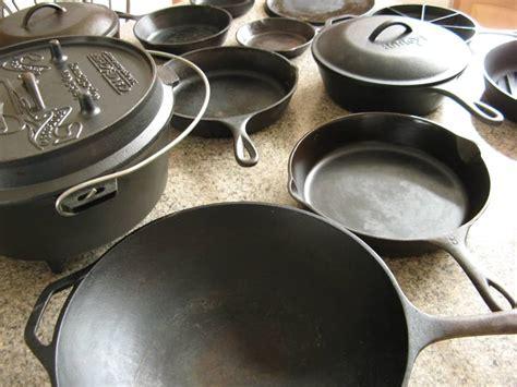 nonstick pans   pain     cast iron