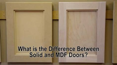 how to make cabinet doors out of mdf what is the difference between solid wood and mdf cabinet