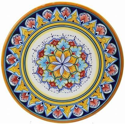 Italian Ceramic Plate Deruta Ceramics Cheese Majolica