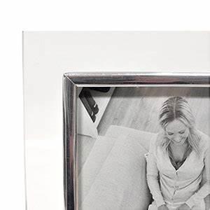 Cadre Photo 13x18 : cadre photo verre baguette argent e 13x18 emd ~ Teatrodelosmanantiales.com Idées de Décoration