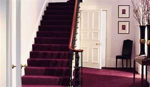 Deco Marche Escalier : moquette pose dans un escalier ~ Teatrodelosmanantiales.com Idées de Décoration