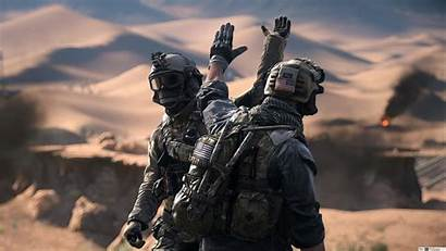 Battlefield Five Soldiers Theme Games Uhd Main