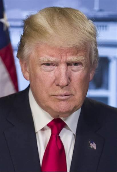 Trump Donald Ausbildung Portrait Das Official Macht