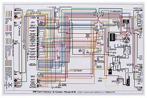 Wiring Diagram  1969 Chevelle  El Camino  11x17  Color  W  O