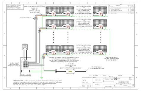 enphase micro inverter wiring diagram sle wiring