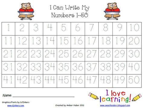 tracingnumbers number tracing tracing worksheets