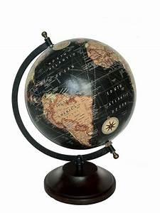 globe terrestre noir maison du monde segu maison With globe maison du monde