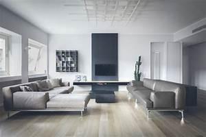 A Minimalist Contemporary Interior In Milan