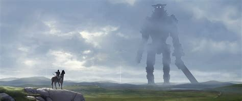 ultra wide shadow   colossus video games wallpapers