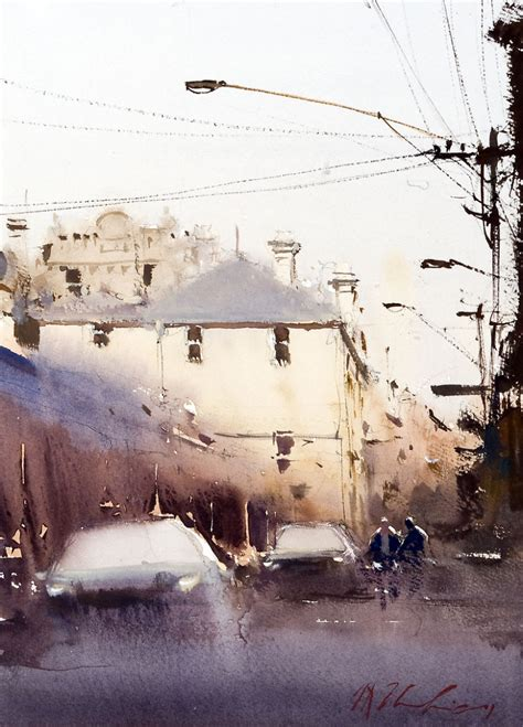 thu hang  group joseph zbukvic watercolor