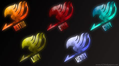 fairy tail logo wallpapers wide cinema wallpaper p