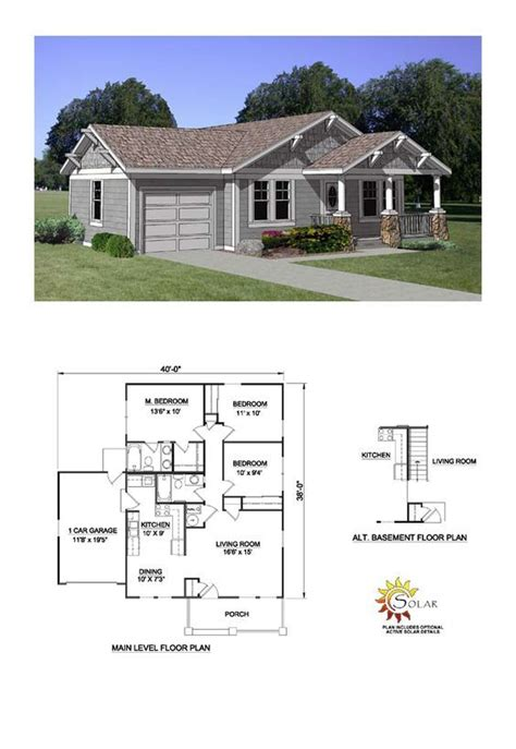 country style house plan    bed  bath  car garage   country style house