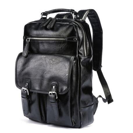 jual tas ransel kulit pria import backpack punggung