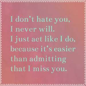 Hate You Quotes And Sayings. QuotesGram