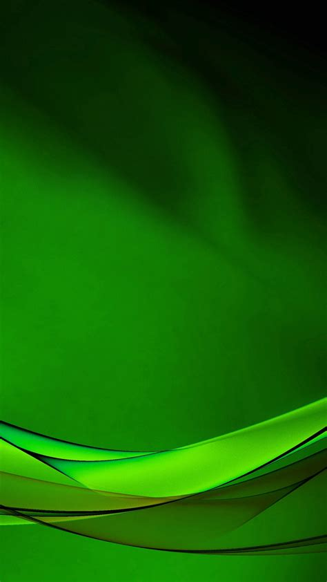 Android Green Abstract Wallpaper Hd by Hd Background Green Wave Pattern Lines Curved Bright Sharp