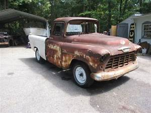 Buy Used 1955 Chevrolet Cameo Truck Rare Fiberglass Bed In