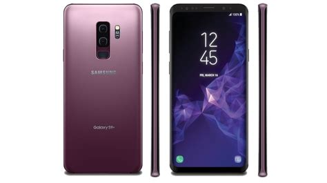 samsung galaxy s9 galaxy s9 leaked in lilac purple colour igyaan