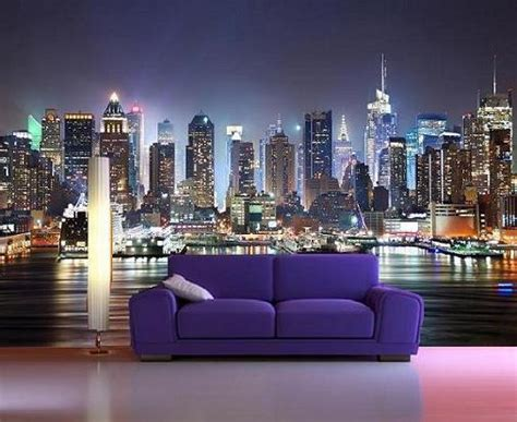 new york skyline decorating wallpaper mural 7 free delivery option to uk eu