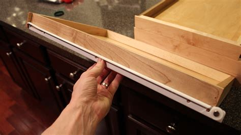 cabinet drawer slides our home from scratch